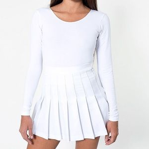 NEW American Apparel Tennis Skirt SMALL